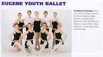 Eugene Ballet Youth Group